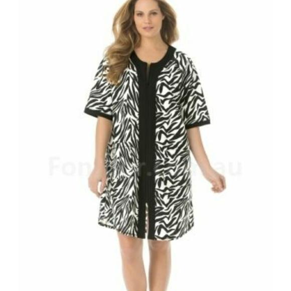 Dreams Co Intimates & Sleepwear | 420 4x 5x 6x Black White Zebra ...